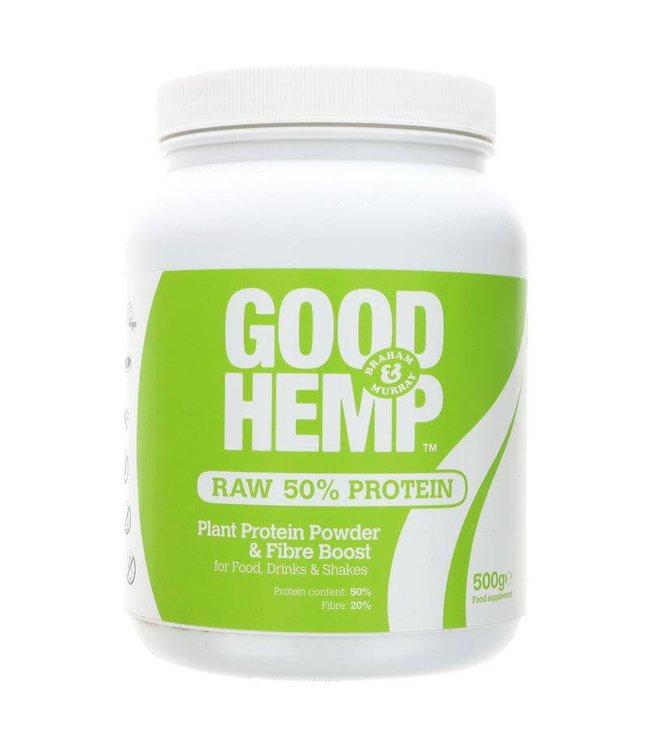 Good Hemp Nutrition Hemp Protein Powder Raw 500g