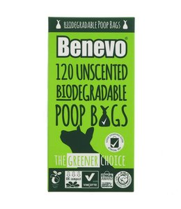 Benevo Benevo 120 Biodegradable Poo Bags 125g