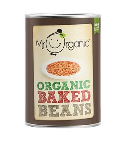 Mr Organic Mr Organic Baked Beans 400g