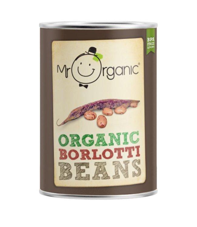 Mr Organic Mr Organic Borlotti Beans 400g