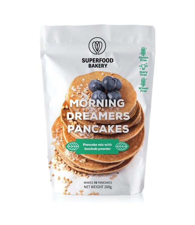 Superfood Bakery Morning Dreamers Pancakes 200g