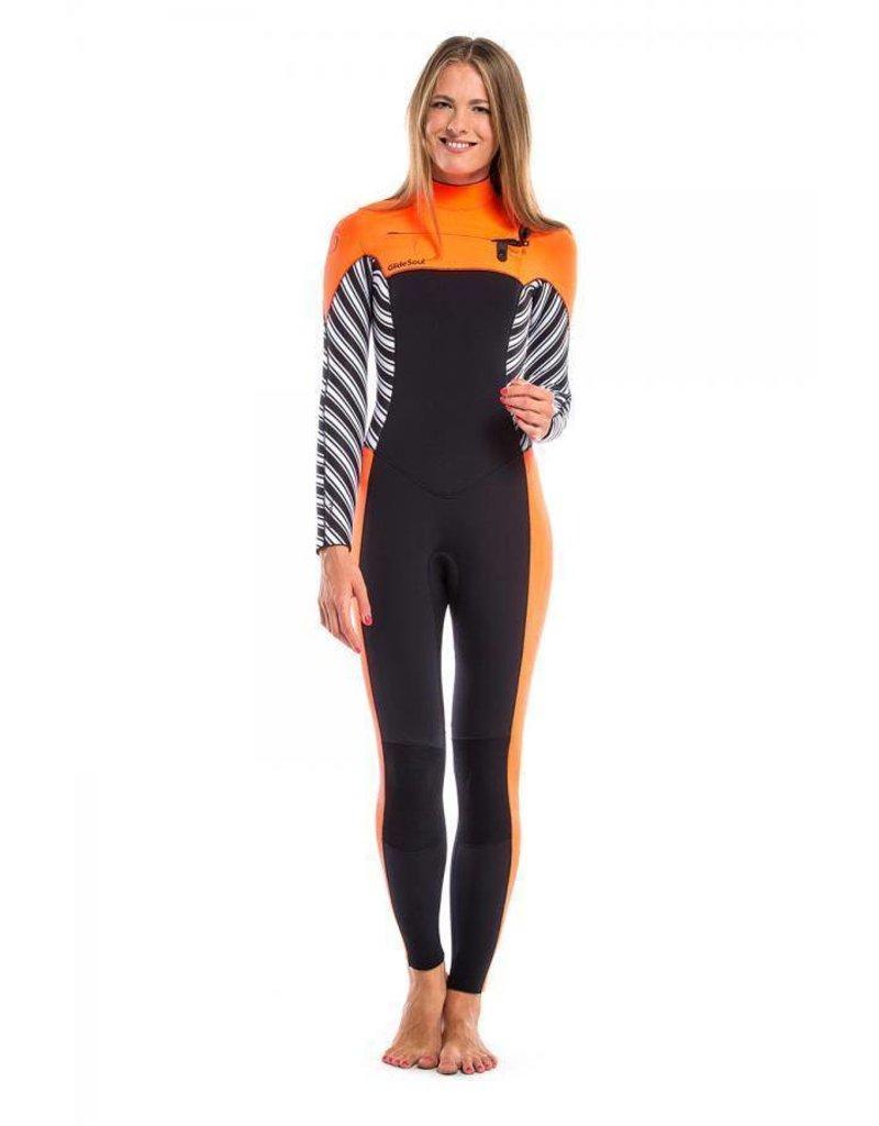 Glidesoul Vibrant Stripes Full Wetsuit 5mm