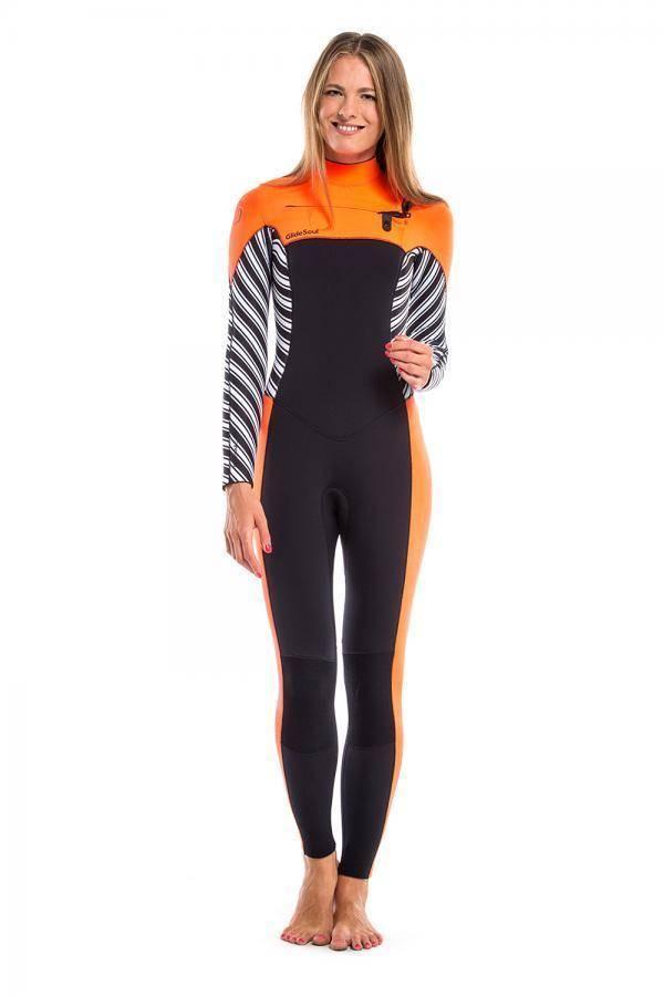 Vibrant Stripes Full Wetsuit 5mm