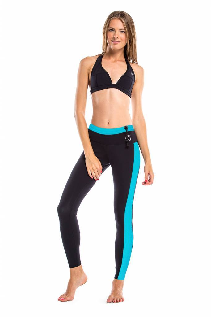 Glidesoul Vibrant Stripes Legging 1mm