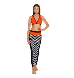 Glidesoul Vibrant Stripes collection legging 1mm