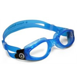 Aqua Sphere Kaiman Clear Lens Light Blue