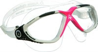 Aqua Sphere Vista Lady Clear Lens White/Red Obsession