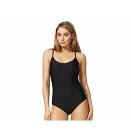 Piha Black Essentials Cami Suit