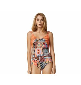 Piha California Twin Strap Suit Multi