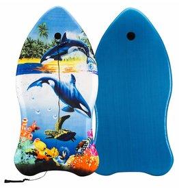Waimea Bodyboard Ergo Shape Dolfijn