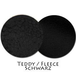 Teddy/Fleece Schwarz