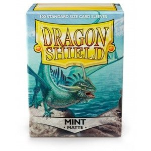 Dragon Shield Standard Sleeves Matte Mint (100 Sleeves)