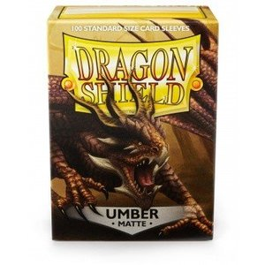 Dragon Shield Standard Sleeves Matte Umber (100 Sleeves)