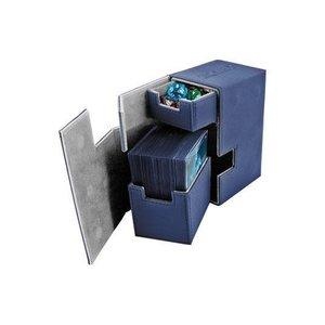 Ultimate Guard Flip'n'Tray Deck Case 80+ Standard Size XenoSkin Blue