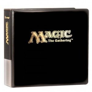 Ultra Pro Magic 3'' Black Album - Hot Stamp