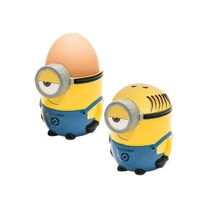 Minions Despicable Me 3 Eggcup with salt shaker Minion