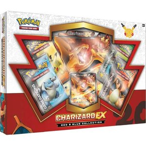 Pokemon TCG 20th Anniversary Red & Blue Collection - Charizard-EX