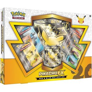 Pokemon TCG 20th Anniversary Red & Blue Collection - Pikachu-EX