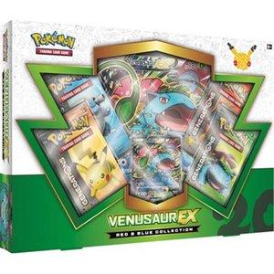 Pokemon TCG 20th Anniversary Red & Blue Collection - Venusaur-EX