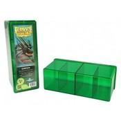 Dragon Shield 4 Compartment Storage Box Green