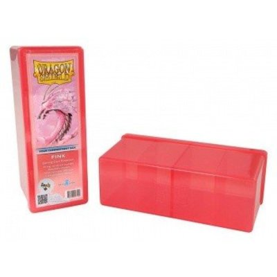 Dragon Shield 4 Compartment Storage Box Pink