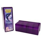 Dragon Shield 4 Compartment Storage Box Purple