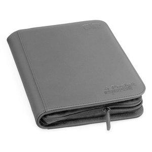 Ultimate Guard 4-Pocket ZipFolio XenoSkin Grey