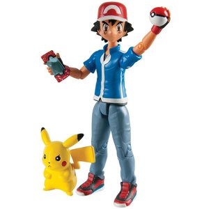 Tomy Pokémon Action Figures 2-Pack Ash & Pikachu