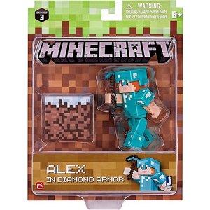 Minecraft Alex in Diamond Armor
