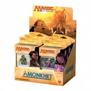 Magic the Gathering Amonkhet SET Planeswalker Decks