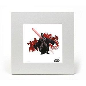 Star Wars Art Print Darth 20 x 20 cm