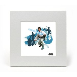 Star Wars Art Print Luke 20 x 20 cm
