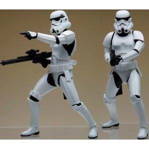 Star Wars Kotobukiya ARTFX+ Statue 2-Pack Army Builder Stormtroopers 18 cm