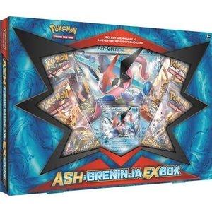 Pokemon TCG Ash-Greninja-EX Box