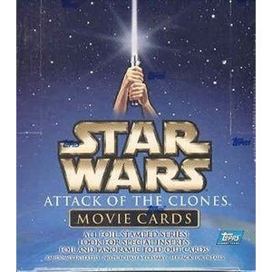 Topps Star Wars Attack of the Clones Movie Cards Box