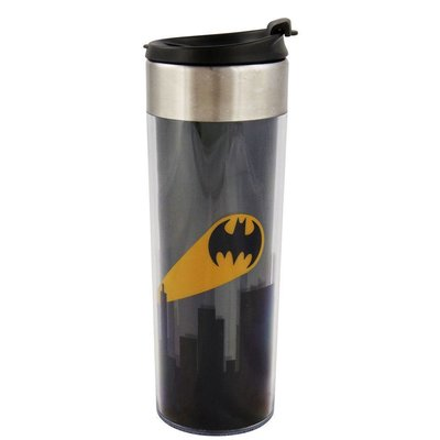 DC Comics Batman Travel Mug Logo