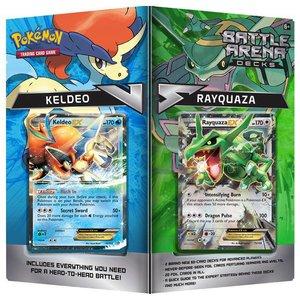 Pokemon TCG Battle Arena Decks Rayquaza vs Keldeo