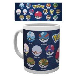 Pokémon Beker Ball Varieties