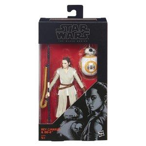 Star Wars Hasbro Black Series Action Figure 15 cm Rey (Jakku) & BB-8 (02)