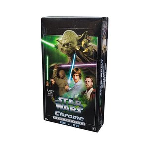 Topps Star Wars Chrome Perspectives Jedi vs Sith Box