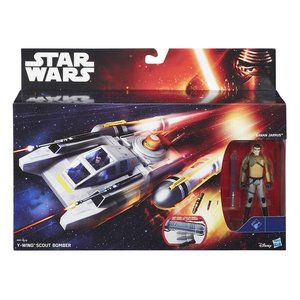 Star Wars Hasbro Class I Decluxe Vehicle Y-Wing Scout Bomber