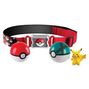 Pokémon Clip'n'Carry Poke Ball Belt + Pikachu & Quick Ball