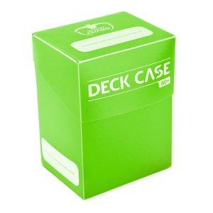 Ultimate Guard Deck Case 80+ Standard Size Light Green