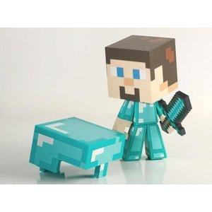 Minecraft Diamond Steve 15 cm