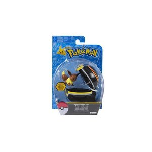 Tomy Pokémon Eevee + Luxury Ball Clip'n'Carry Wave D7
