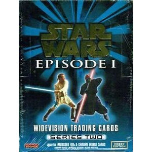 Topps Star Wars Episode I Widevision Trading Cards Series 2 Box