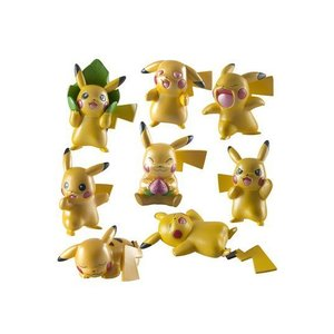 Tomy Pokémon Metallic Mini Figures 4-Pack 5 cm