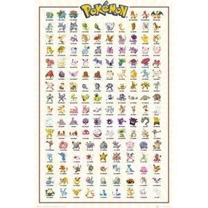 Pokémon Poster Kanto 61 x 91 cm