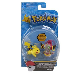 Tomy Pokémon Pikachu vs Hoopa Confined Action Figure 6 cm