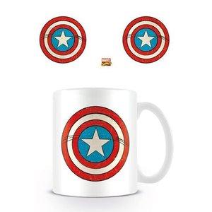 Marvel Comics Retro Mug Captain America Shield
